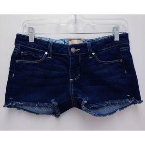 Paige Silver Lake Jean Shorts Size 28
